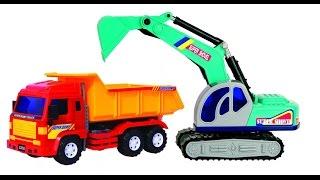 обзор игрушек. строительная техника. машины на аккамуляторе.
