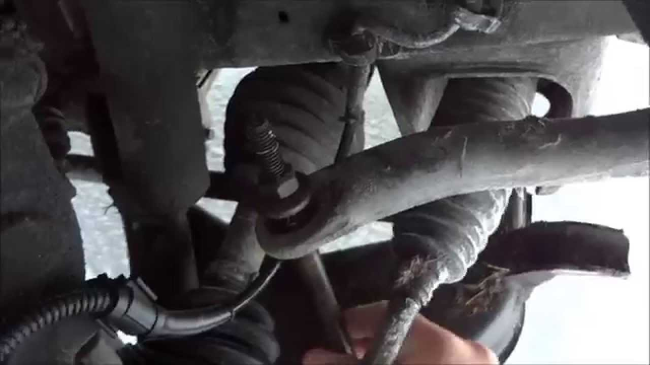 How to tell if your sway bar bushings are bad  YouTube