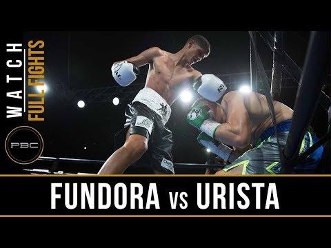 Fundora vs Urista