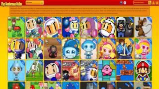 Play Bomberman Online Website - www.PlayBombermanOnline.com
