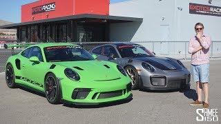 Porsche GT2 RS vs GT3 RS - Did I Beat Charles Leclerc?!