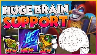 GIGANTIC Support Brain With MASSIVE Outplays!