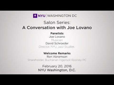 Salon Series: A Conversation with Joe Lovano