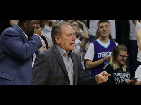 Tom Izzo Fiery Post Game Comments After Beating FGCU!
