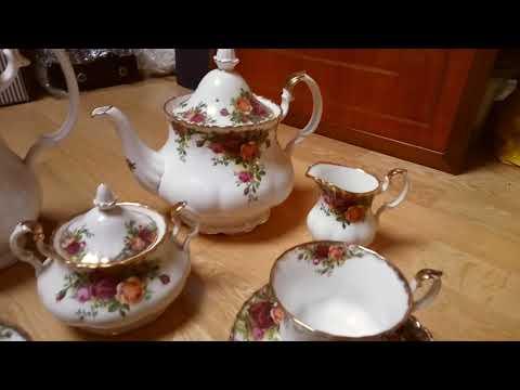 Royal Albert Tea Set Old Country Roses
