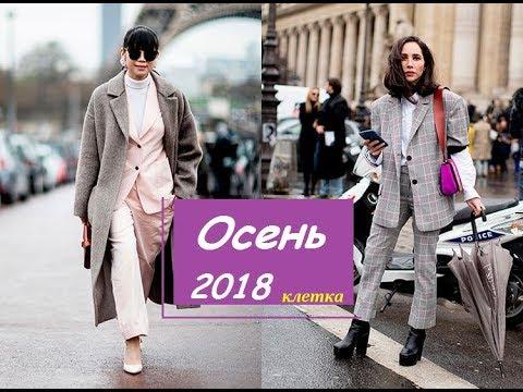 МОДНЫЕ ОСЕННИЕ ОБРАЗЫ 2018/Клетка