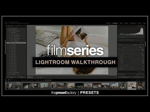 The Preset Factory | Film Series (Update 2.0) Lightroom Walkthrough