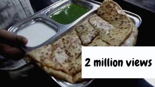 Street food in india | aaloo paratha at karve road, pune
