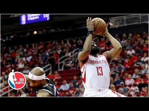 James Harden terrific in 5th career 50-point triple-double as Rockets beat Kings | NBA Highlights thumbnail