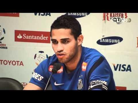 Alan Kardec quer ficar no Santos