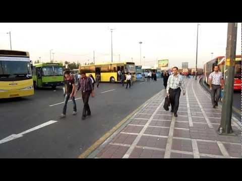 Tehran / Azadi Street Scenes @ 8.30 A.M.   Travel to Iran 2012   Go Backpacking   Trip to Persia