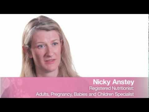 Advice on Nutrition for Children and Mums- Nicky Anstey