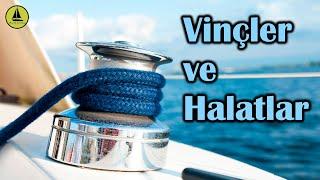 104 : Doğrusunu öğrenelim; teknede Vinç ve Halat kullanımı