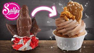 Resteverwertung – Nikolaus & Spekulatius  / weihnachtliche Cupcakes
