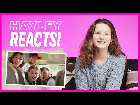 HAYLEY LEBLANC REACTS TO MANI | Brat TV