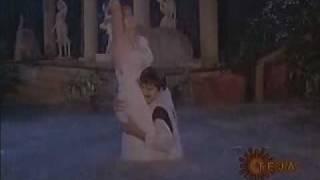 Ramya sexy  rain song