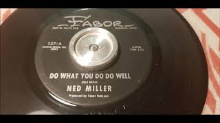 Ned Miller - Do What You Do Do Well - 1964 Country Bopper - FABOR 137