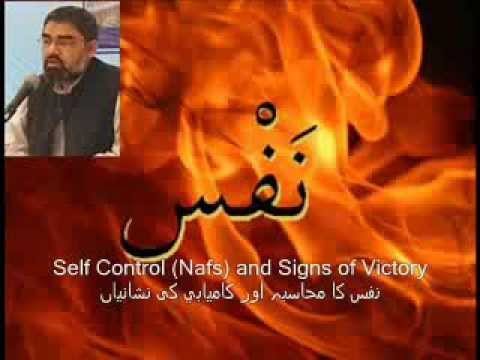 Self Control (Nafs) and Signs of Success - Urdu speech H.I. Ali Murtaza Zaidi