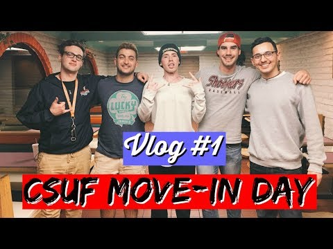 CSUF Move-in Day 2018 | College Vlog #1