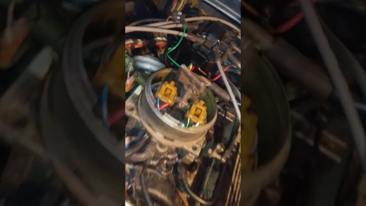 Chevy 350 Tbi With A Hei Distributor Youtube Wiring