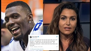 Dez Bryant CHECKS Molly Qerim! Says She Needs To AP0L0GIZE To Lavar Ball