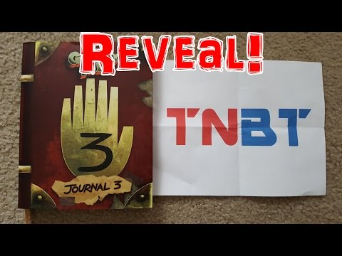The Gravity Falls [REAL LIFE EDITION] Journal 3 Reveal!!! (*4K Quality) | TheNextBigThing