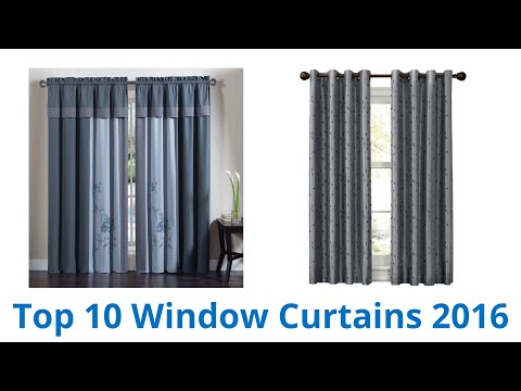 10 Best Window Curtains 2016