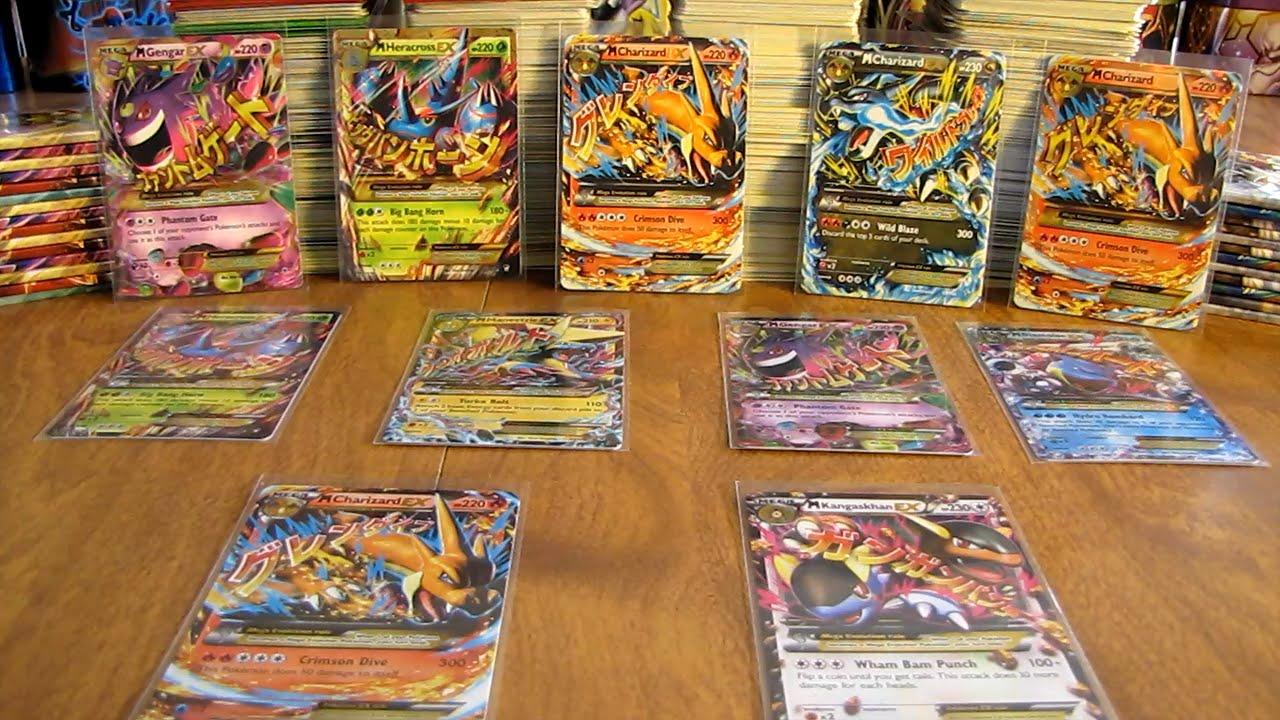 my mega ex pokemon card collection youtube - Where Can I Sell My Pokemon Cards In Person