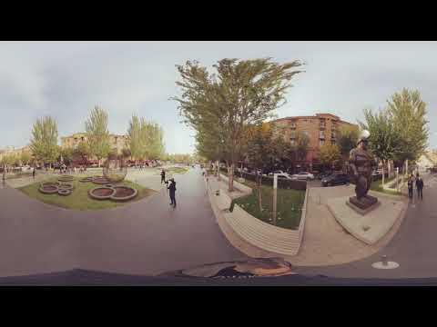 360 градусов, центр искусств Гафесчяна, Ереван, Аремения. Ноябрь 2019.