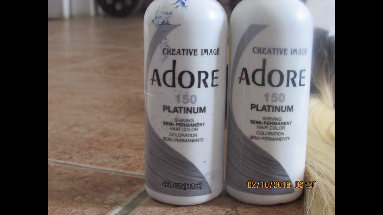 blond #613 adore platinum 150