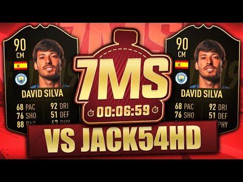 IF DAVID SILVA 90! 7 MINUTE SQUAD BUILDER! FIFA 19 ULTIMATE TEAM