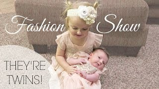 BABY FASHION SHOW | THEY'RE TWINS!