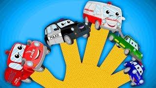 xe cộ gia đình ngón tay | Vehicles Finger Family | Kids Tv Channel Vietnam | nhac thieu nhi hay nhất