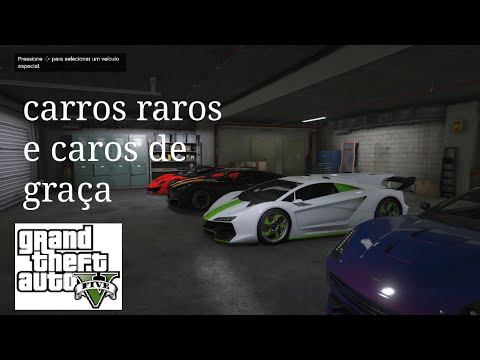 Gta Localizacao Dos Carros Raros Caros