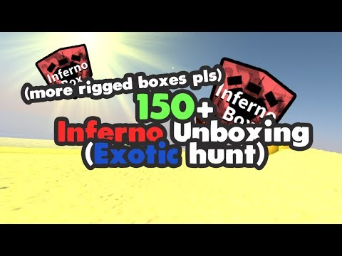 Miners Haven: 150+ INFERNOS unboxing (WE NEED MORE RIGGED BOXES) (Exotics hunt)