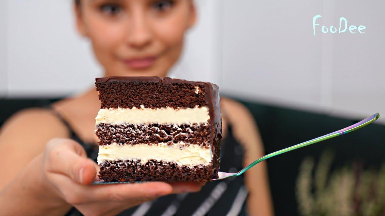 Торт МЕЧТА — этим все СКАЗАНО! Очень ВКУСНЫЙ шоколадный торт с кремом Пломбир!