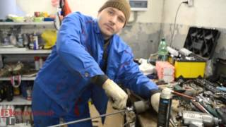 видео Замена рычагов Дэу в СПб. Замена передних и задних рычагов Daewoo в Санкт-Петербурге в день обращения