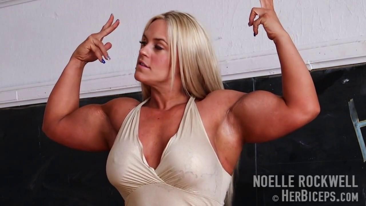 Noelle Rockwell Herbiceps Massive Muscle Girl