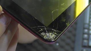 как снять тачскрин на планшете Asus Nexus 7 2013 Wifi  3G