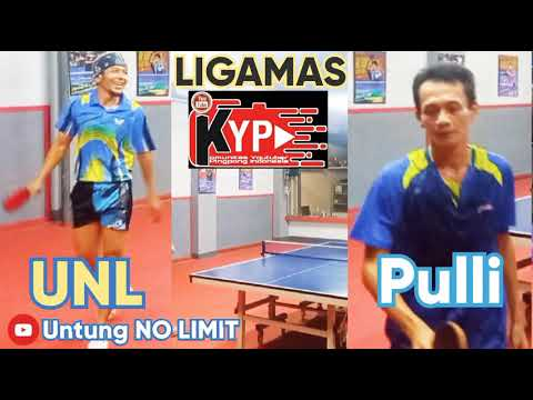 [ Tenis Meja ] Pulli Vs @Untung NO LIMIT | PTM LIGAMAS 2021
