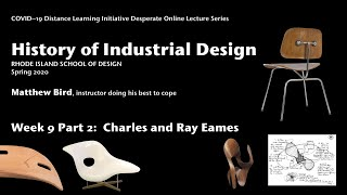 History Of Id Week 9 Part 2: Charles And Ray Eames