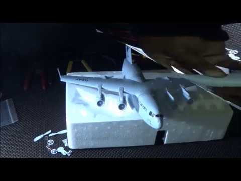 Lets Unbox and Assemble the C17 Transport Plane