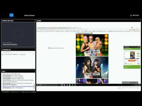 Social Booth - Photo Booth Software Green Screen Webinar Training 09/13/16