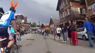 Alpe d´Huzes 6 juni 2013, finish 18:00 uur