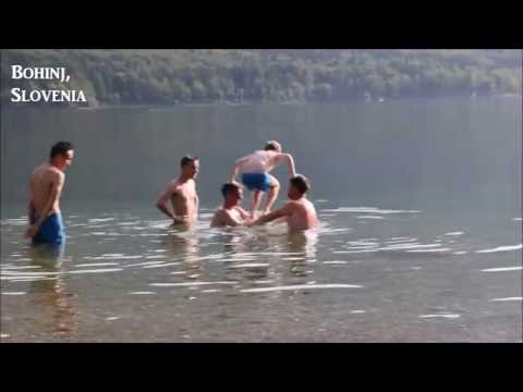 Summertime at Lake Bohinj, Slovenia