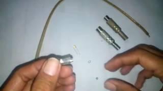 tutorial membuat pigtail modem