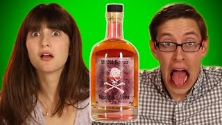 Weird International Liquor Taste Test