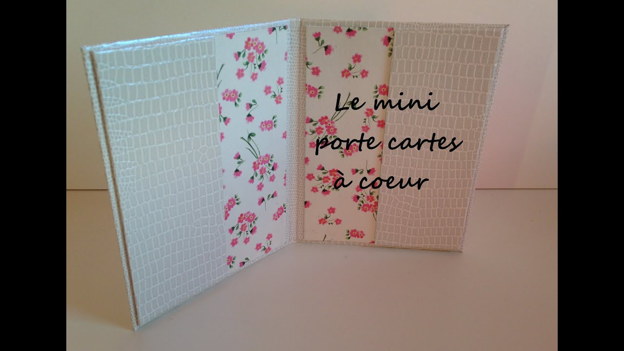 produits chauds matériau sélectionné grand choix de 2019 D.I.Y: [cartonnage N°6]: Mini porte cartes