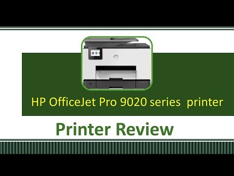 Printer Review : HP OfficeJet Pro 9020 | 9022 | 9025 | 9026 | 9028