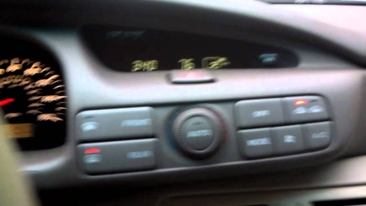 2002 Mazda Millenia S interior tour - YouTube